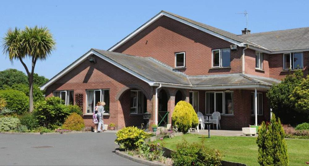 entrance of a care home in Donaghadee