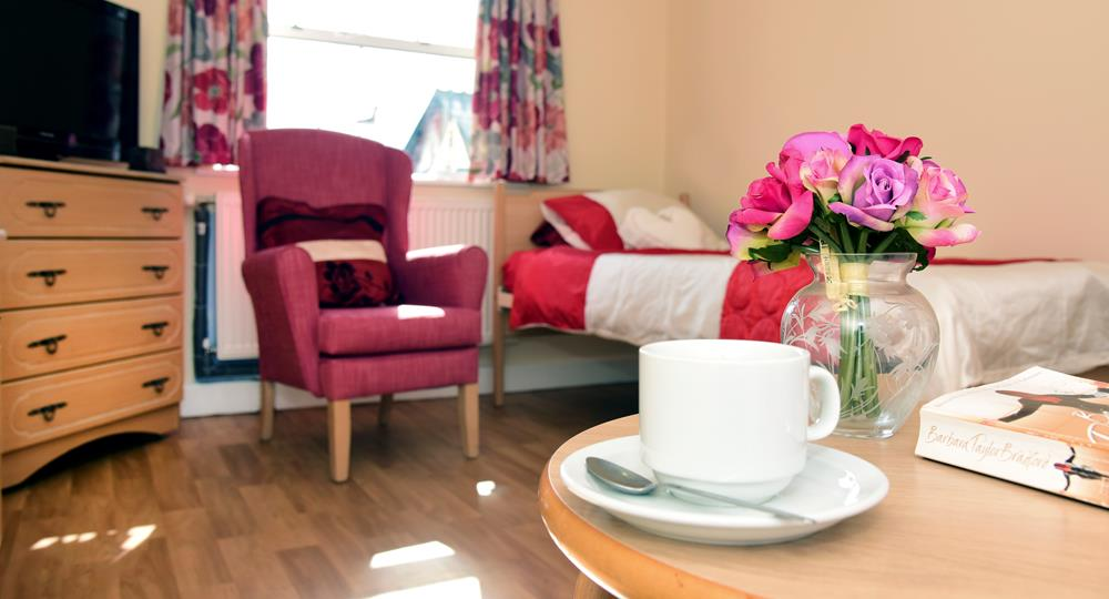 bedroom of a care home in Walsall