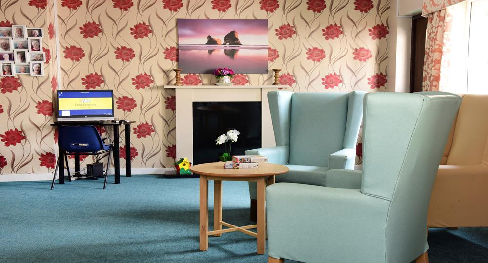lounge area of a care home in Hednesford