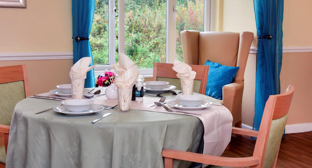 dining area of a care home in Hednesford