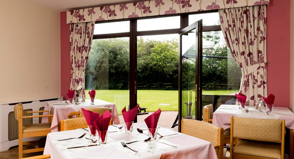 dining area of a care home in Jordanstown