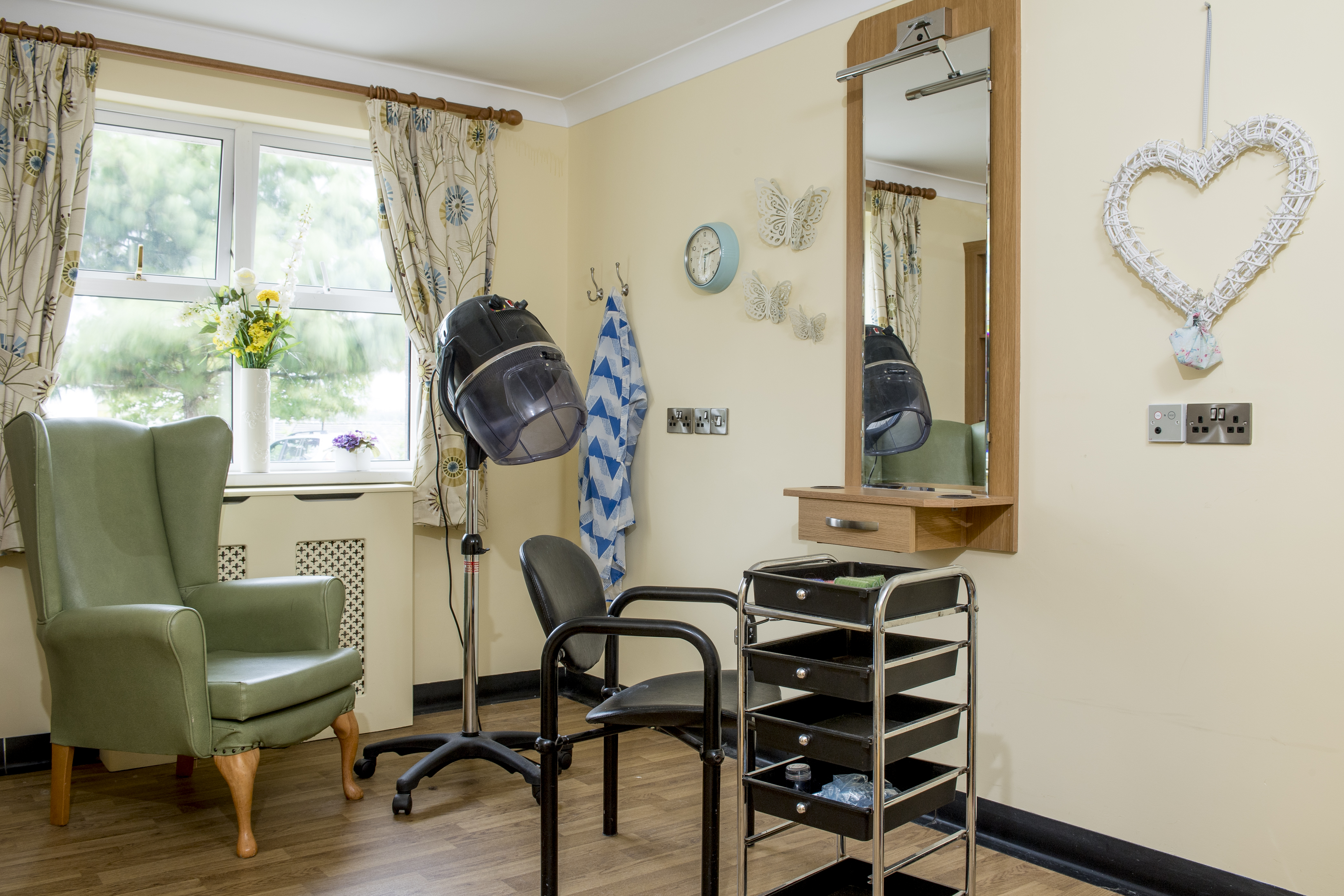 Hairdressing Salon Of A Care Home In Ballymena