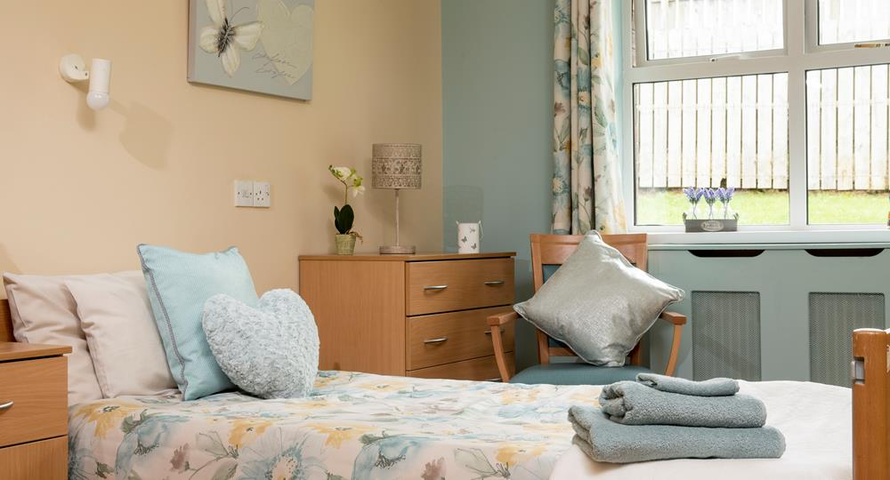 bedroom of a Ballymena care home