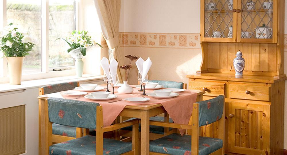 dining area of a care home in Sutton