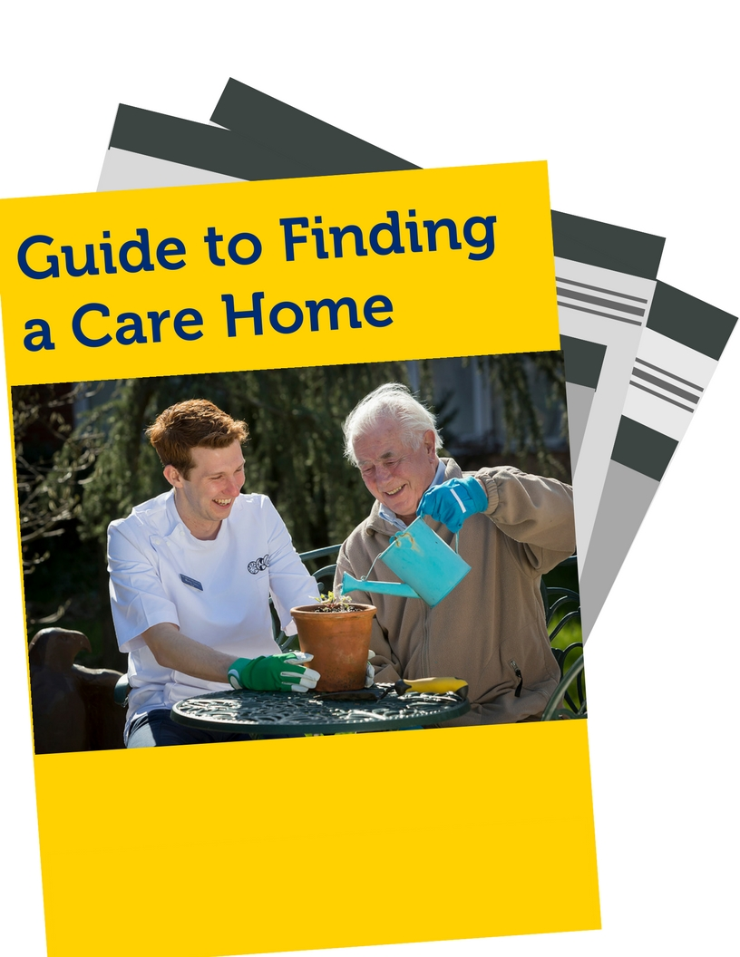 guide to choosing a care home