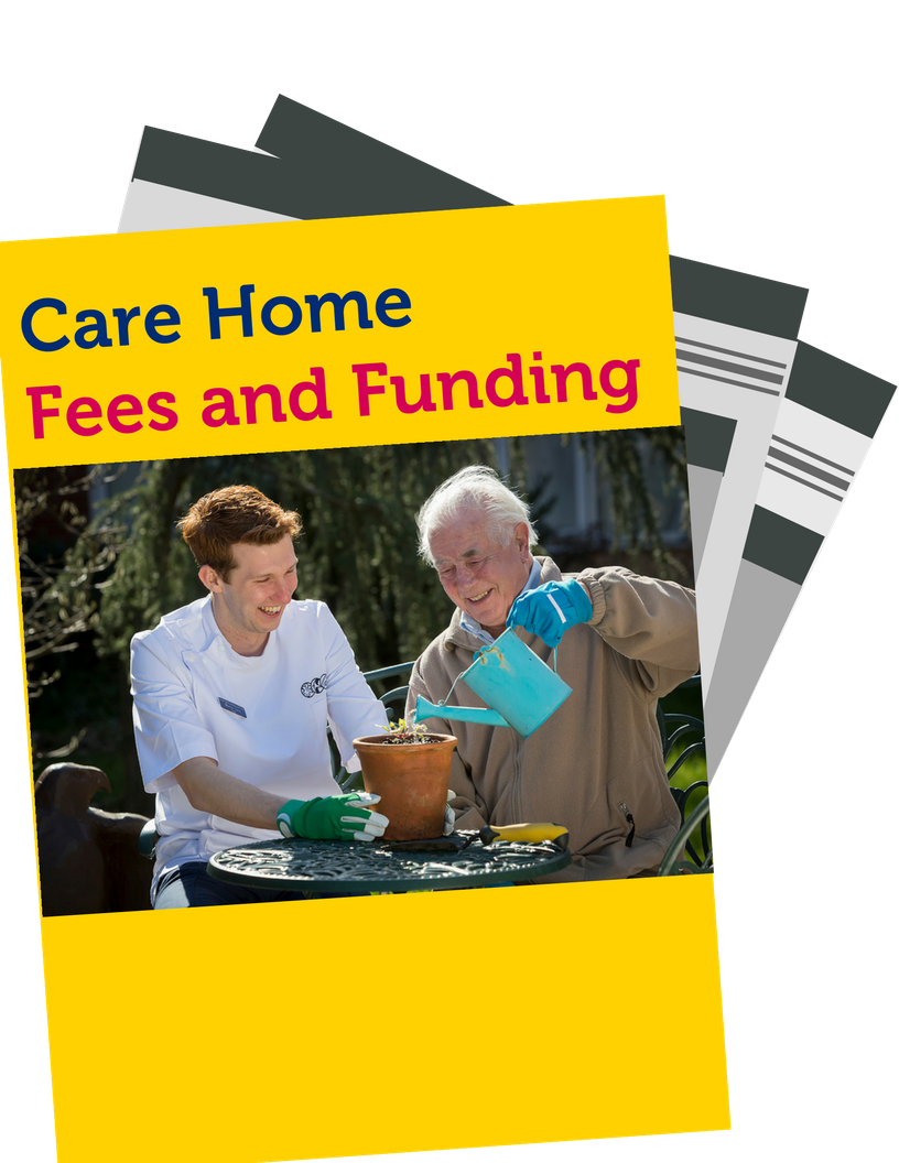 fees and funding care homes